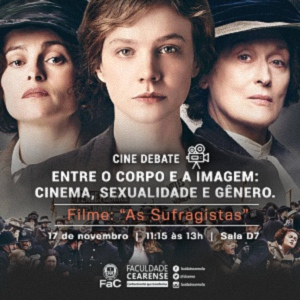 "Cine debate discute filme ""As Sufragistas"""